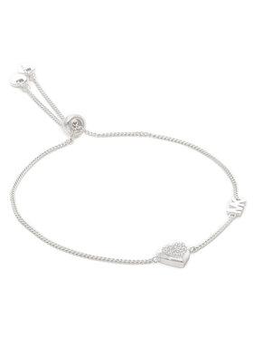 Michael Kors Michael Kors Bracelet Mini Cz Hrt Sldr MKC1455AN040 Argent