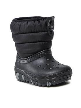 Crocs Crocs Śniegowce Classic Neo Puff Boot K 207275 Czarny