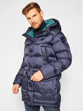 Blauer Blauer Vatovaná bunda 20WBLUB02159 005486 Tmavomodrá Regular Fit