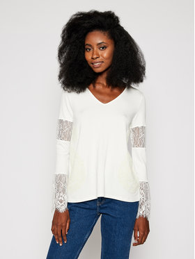 Desigual Desigual Блуза Amelia 20WWTKCL Бял Regular Fit