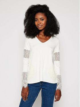 Desigual Desigual Μπλουζάκι Amelia 20WWTKCL Λευκό Regular Fit