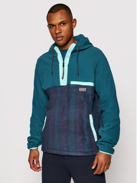 Quiksilver Quiksilver Полар Go First EQYFT04351 Зелен Regular Fit