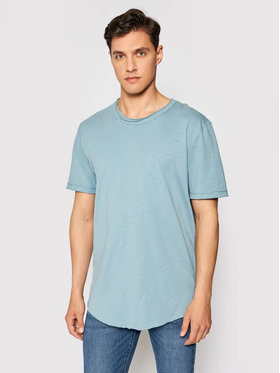 Only & Sons Only & Sons T-shirt Benne 22017822 Bleu Regular Fit