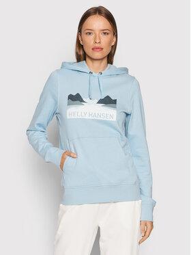 Helly Hansen Helly Hansen Sweatshirt Nord Graphic 62981 Blau Regular Fit