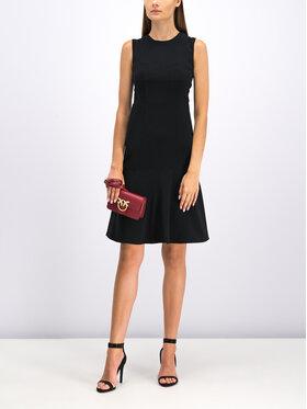 Pinko Koktejlové šaty 20192 BLK01 1G14FQ 7624 Čierna Regular Fit