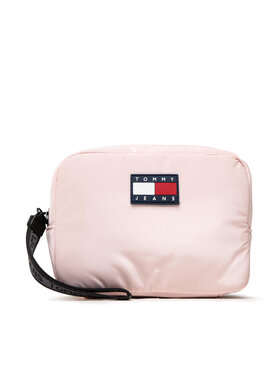 Tommy Jeans Tommy Jeans Pochette per cosmetici Tjw Nylon Washbag AW0AW11037 Rosa