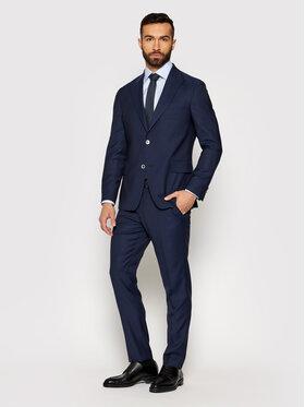 Oscar Jacobson Oscar Jacobson Costume Faron 2179 5674 Bleu marine Slim Fit