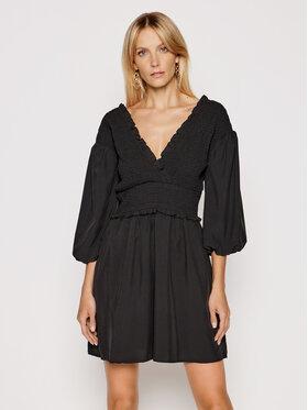 NA-KD NA-KD Ежедневна рокля Smocked 1018-006781-0002-581 Черен Regular Fit