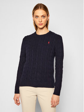 Polo Ralph Lauren Polo Ralph Lauren Pull Julianna Wool/Cashmere 211525764008 Bleu marine Regular Fit