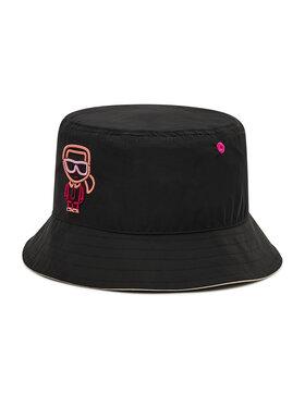 KARL LAGERFELD KARL LAGERFELD Текстилна шапка 215W3407 Черен