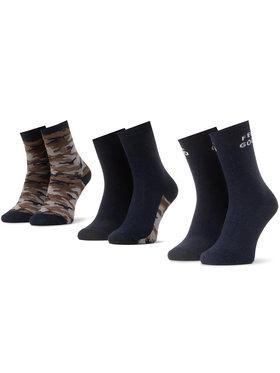 Mayoral Mayoral Súprava 3 párov vysokých detských ponožiek 10872 Tmavomodrá