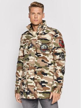 Guess Guess Prijelazna jakna M1YL51 WDZR0 Šarena Regular Fit