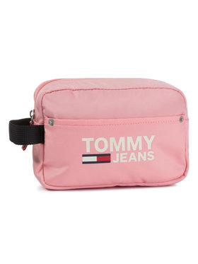 Tommy Jeans Tommy Jeans Pochette per cosmetici Tjw Cool City Washbag AW0AW07650 Rosa