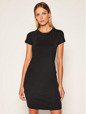 Armani Exchange Armani Exchange Kasdieninė suknelė 6HYA70 YJ3BZ 1200 Juoda Slim Fit