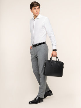 Strellson Strellson Spodnie garniturowe 30016221 Szary Regular Fit