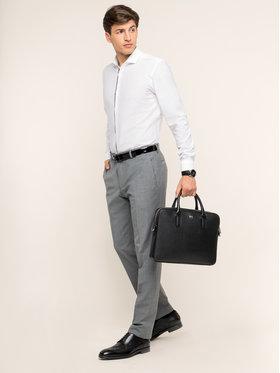 Strellson Strellson Společenské kalhoty 30016221 Šedá Regular Fit