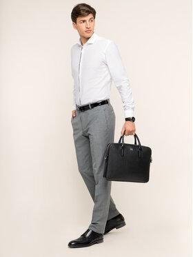 Strellson Strellson Spoločenské nohavice 30016221 Sivá Regular Fit