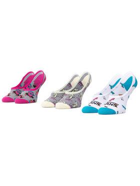 Vans Vans Σετ 3 ζευγάρια κάλτσες σοσόνια γυναικεία Skate Fruit Canoodle VN0A4S8N4481 Έγχρωμο