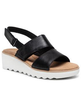 Clarks Clarks Sandále Jillian Pearl 261577344 Čierna