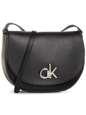 Calvin Klein Calvin Klein Kabelka Re-Lock Saddle Bag K60K606678 Čierna