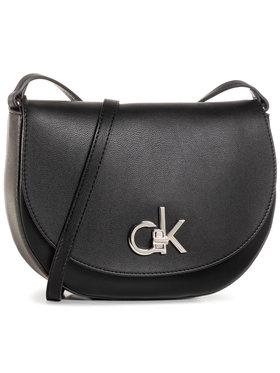 Calvin Klein Calvin Klein Τσάντα Re-Lock Saddle Bag K60K606678 Μαύρο