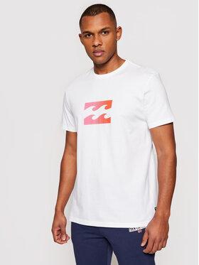 Billabong Billabong T-Shirt Team Wave U1SS51 BIF0 Biały Regular Fit