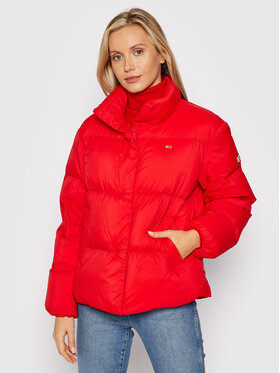 Tommy Jeans Tommy Jeans Giubbotto piumino DW0DW11106 Rosso Relaxed Fit