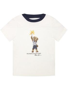 Polo Ralph Lauren Polo Ralph Lauren Marškinėliai Summer II 322785958001 Balta Regular Fit