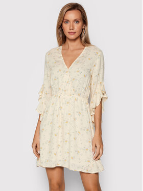 Billabong Billabong Sukienka letnia Love Light W3DR04 BIP1 Żółty Regular Fit