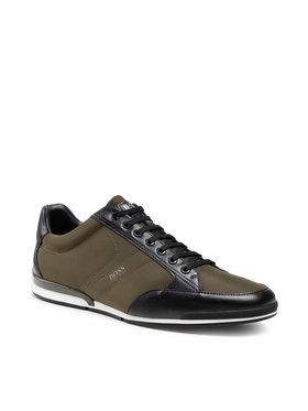Boss Boss Sneakersy Saturn 50455323 10232529 01 Zielony