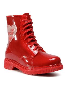 LOVE MOSCHINO LOVE MOSCHINO Bottes de pluie JA24073G1BIR2500 Rouge