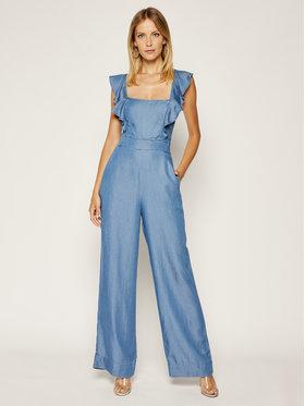 Guess Guess Combinaison Glad Jumsuit W0GK2K D3ZW3 Bleu Skinny Fit
