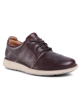Clarks Clarks Pantofi Un LarvikLace2 261550867 Maro