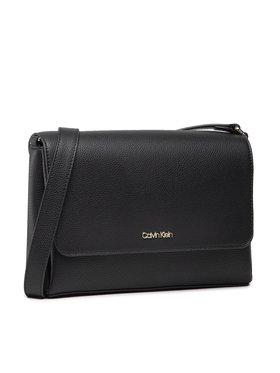 Calvin Klein Calvin Klein Kabelka Ew Xbody W/Flap K60K608181 Čierna