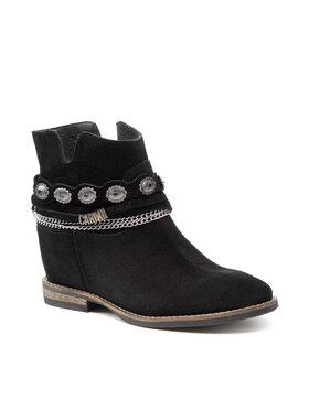 Carinii Carinii Členková obuv B7016 Čierna