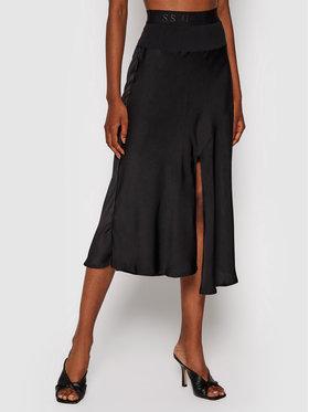 Guess Guess Midi sukně Altea W1YD0Q W3TO2 Černá Regular Fit