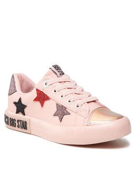 BIG STAR BIG STAR Tenisówki II374033 Różowy
