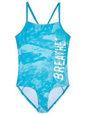 4F 4F Strój kąpielowy HJL21-JKOS002 Niebieski