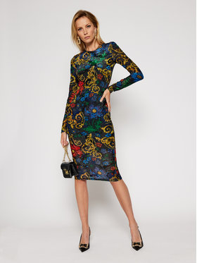 Versace Jeans Couture Versace Jeans Couture Každodenní šaty D2HZB426 Barevná Slim Fit