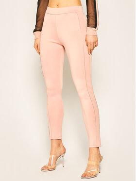 Liu Jo Sport Liu Jo Sport Teplákové kalhoty TA0083 J5918 Růžová Slim Fit