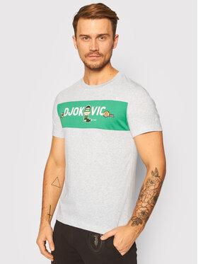 Lacoste Lacoste T-shirt TH7541 Gris Regular Fit