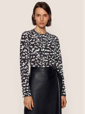 Boss Boss Блуза Banora8 50439714 Черен Regular Fit
