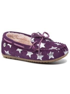 EMU Australia EMU Australia Naminės šlepetės Amity Kids Star K11474 Violetinė