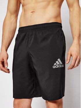 adidas adidas Szorty kąpielowe Solid Swim GQ1090 Czarny Regular Fit