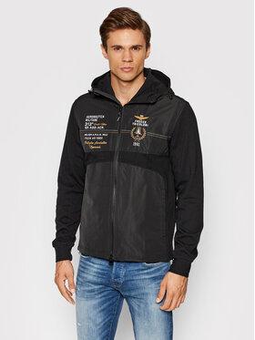 Aeronautica Militare Aeronautica Militare Polár kabát 212AF434CT2884 Fekete Regular Fit