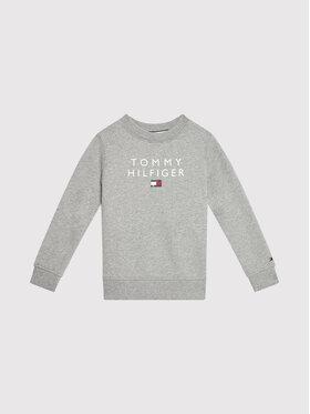 Tommy Hilfiger Tommy Hilfiger Bluză Flag KB0KB06744 M Gri Regular Fit