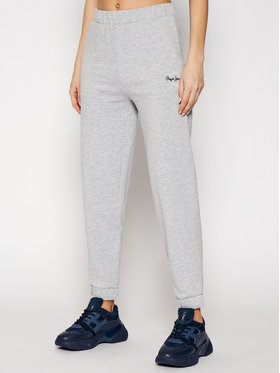 Pepe Jeans Pepe Jeans Долнище анцуг Chantal PL211455 Сив Regular Fit