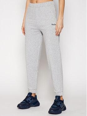 Pepe Jeans Pepe Jeans Teplákové nohavice Chantal PL211455 Sivá Regular Fit