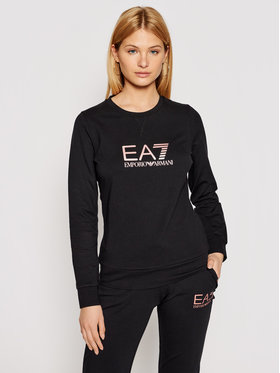 EA7 Emporio Armani EA7 Emporio Armani Majica dugih rukava 8NTM39 TJ31Z 212 Crna Regular Fit