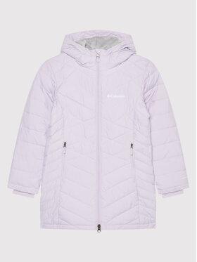 Columbia Columbia Пухено яке Heavently Long Jacket 1908361 Виолетов Slim Fit